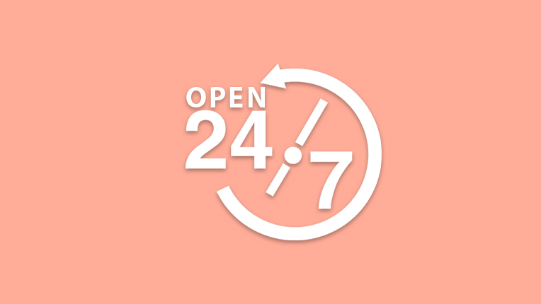 Open 24x7