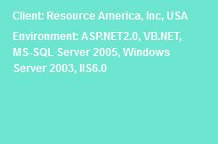 Employee Resource Allocation Dot Net Website