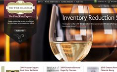 The Wine Cellarage ECommerce Website