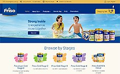Friso ECommerce Website
