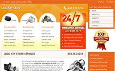 Lock Key Store Wordpress Website